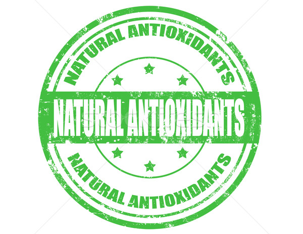 Natural Antioxidants- stamp Stock photo © carmen2011