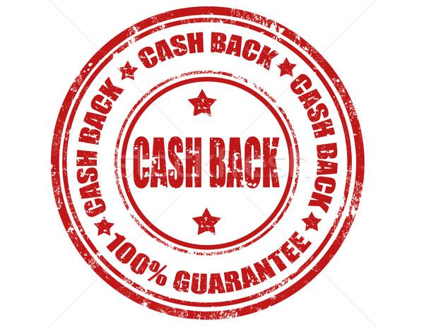 Cash back-stamp Stock photo © carmen2011