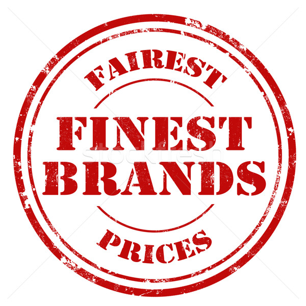 Finest Brands Stock photo © carmen2011