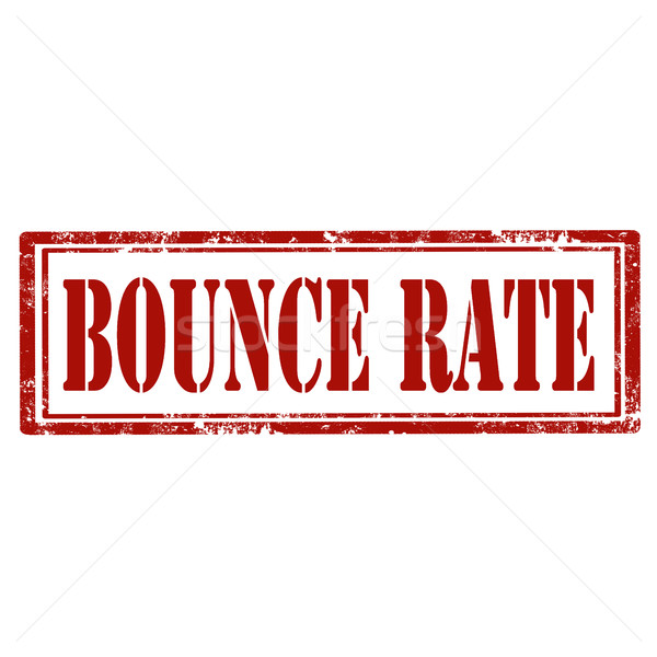 Bounce Rate-stamp Stock photo © carmen2011