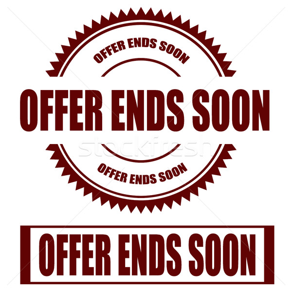 Offer Ends Soon Stock photo © carmen2011