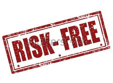 Risk-free stamp Stock photo © carmen2011