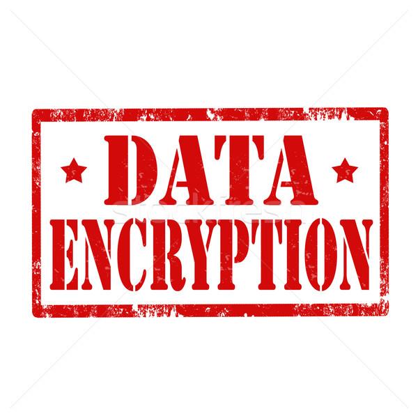 Data Encryption-stamp Stock photo © carmen2011