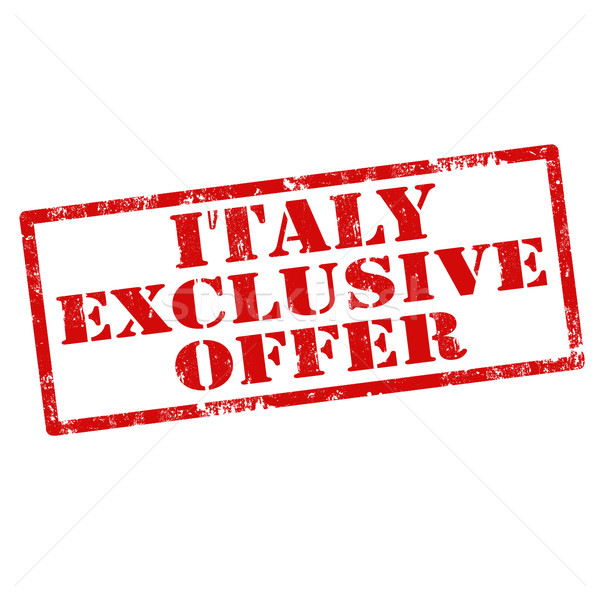 Italy Exclusive Offer Stock photo © carmen2011
