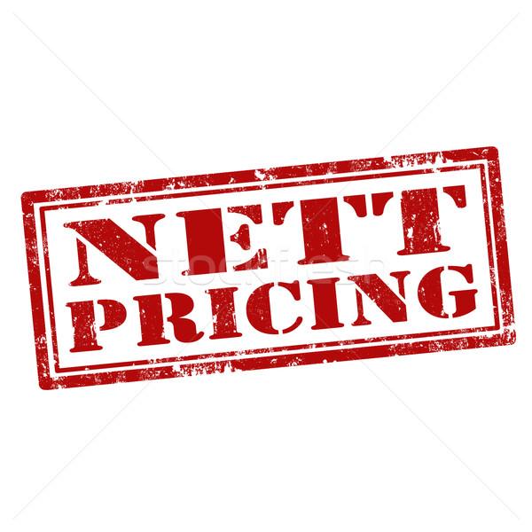 Nett Pricing-stamp Stock photo © carmen2011