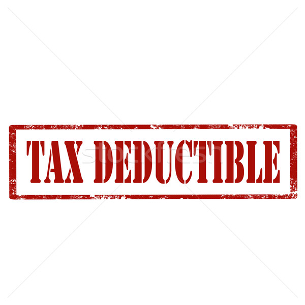 Tax Deductible-stamp Stock photo © carmen2011