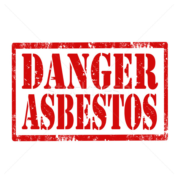 Danger Asbestos-stamp Stock photo © carmen2011
