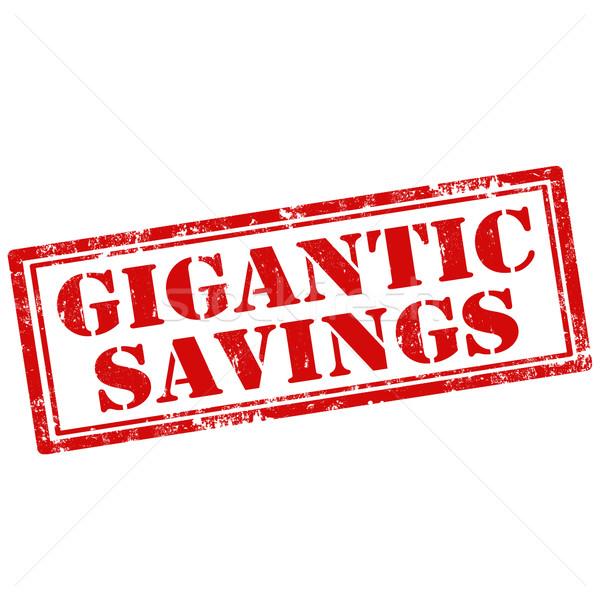 Gigantic Savings Stock photo © carmen2011