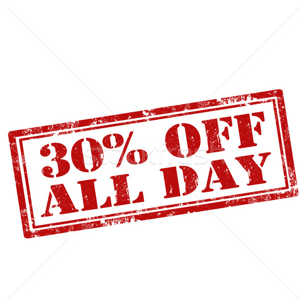 30% Off All Day Stock photo © carmen2011