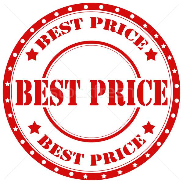 O melhor texto negócio preço borracha Foto stock © carmen2011