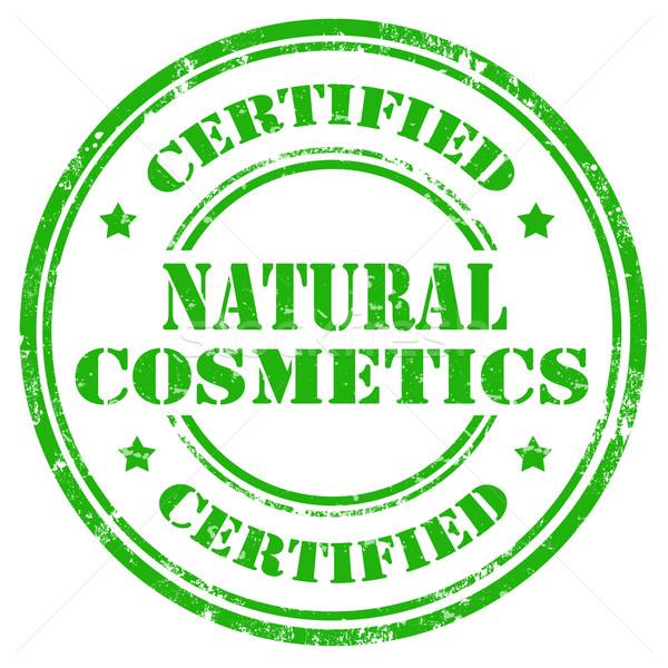 Natural Cosmetics-stamp Stock photo © carmen2011