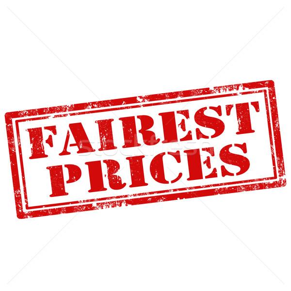 цены Гранж текста знак штампа Сток-фото © carmen2011