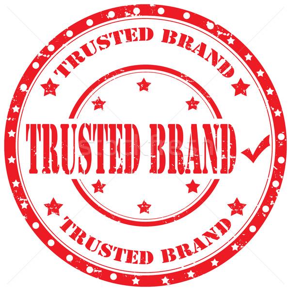 Trusted Brand-stamp Stock photo © carmen2011