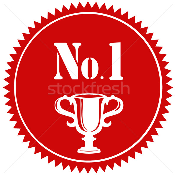 No.1-label Stock photo © carmen2011