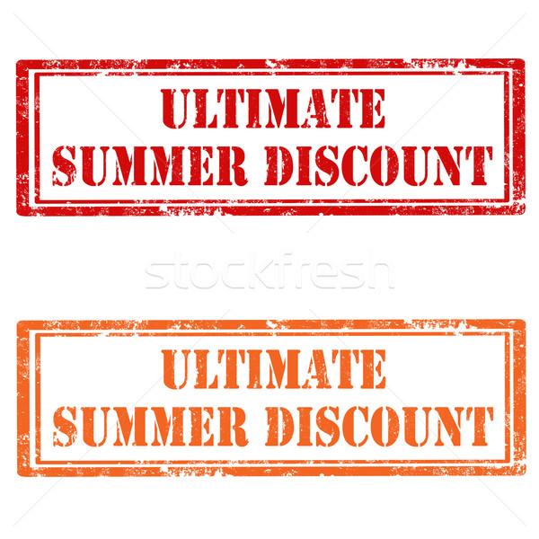Ultimate Summer Discount Stock photo © carmen2011
