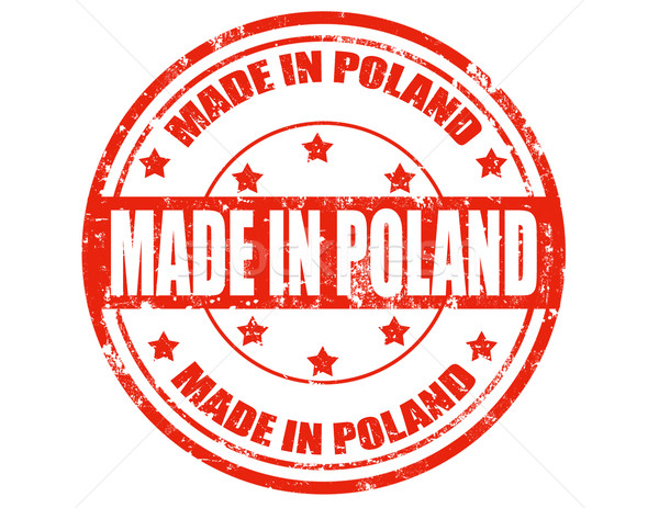 Made in Poland Stock photo © carmen2011