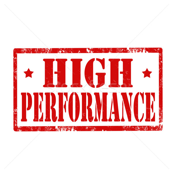 High Performance-stamp Stock photo © carmen2011