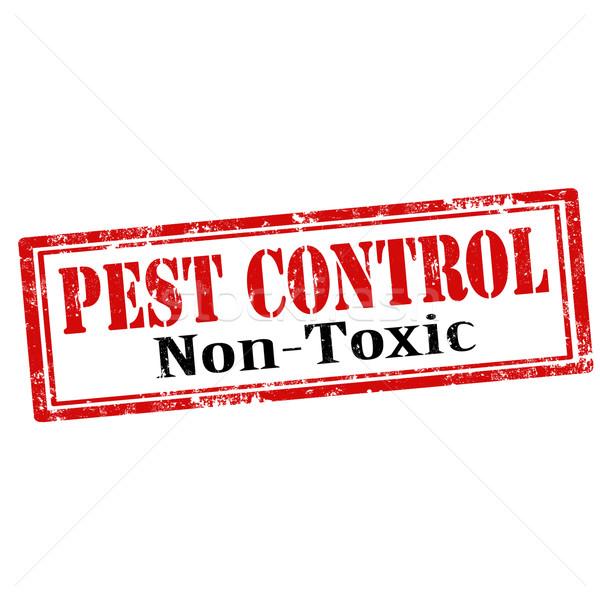 Pest Control-stamp Stock photo © carmen2011