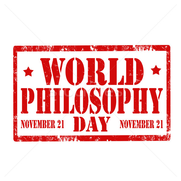 World Philosophy Day-stamp Stock photo © carmen2011