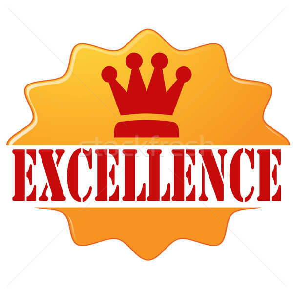 Excellence-label Stock photo © carmen2011