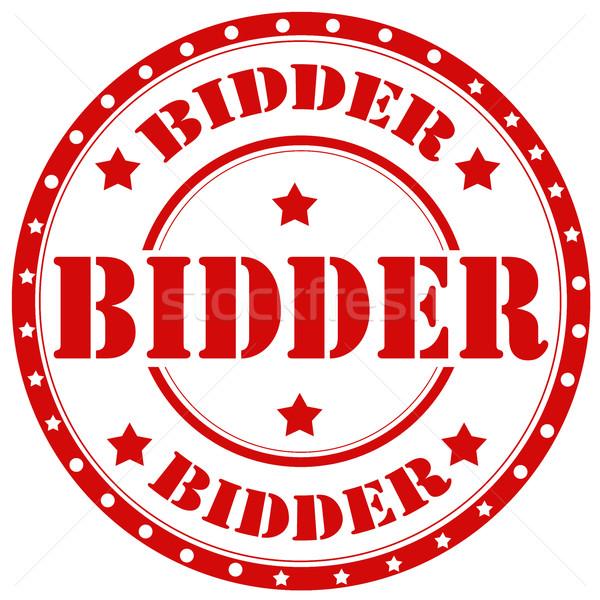 Bidder-stamp Stock photo © carmen2011