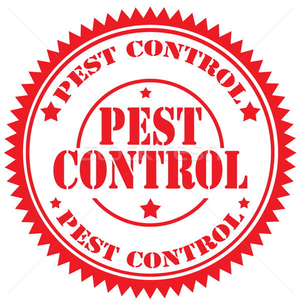 Pest Control-stamp Stock photo © carmen2011