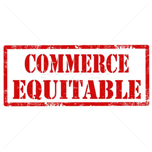 Commerce Equitable-stamp Stock photo © carmen2011