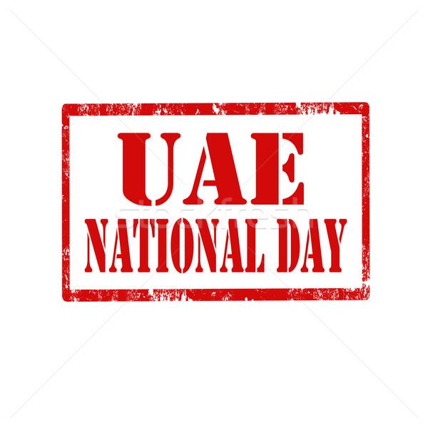 день красный штампа текста арабских резиновые Сток-фото © carmen2011