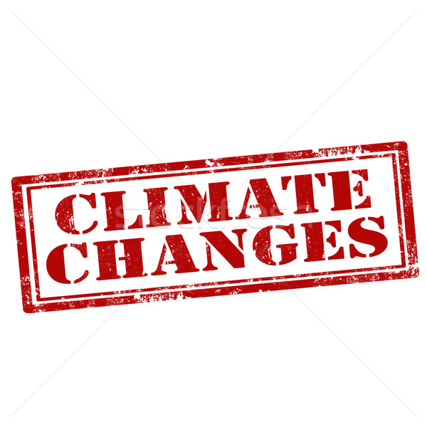 Climate Changes-stamp Stock photo © carmen2011