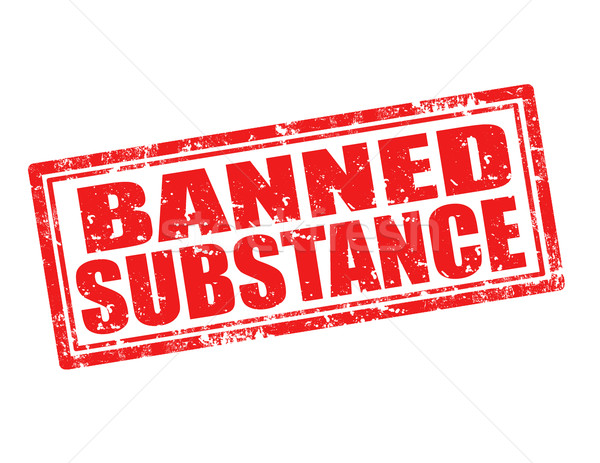 Banned substance-stamp Stock photo © carmen2011