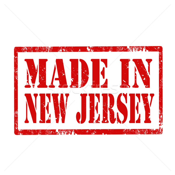 New Jersey grunge metin yeni fabrika Stok fotoğraf © carmen2011