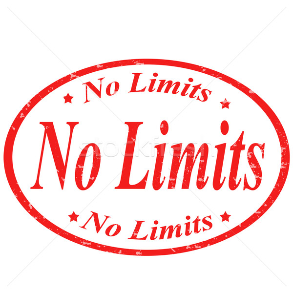 No limits -stamp Stock photo © carmen2011