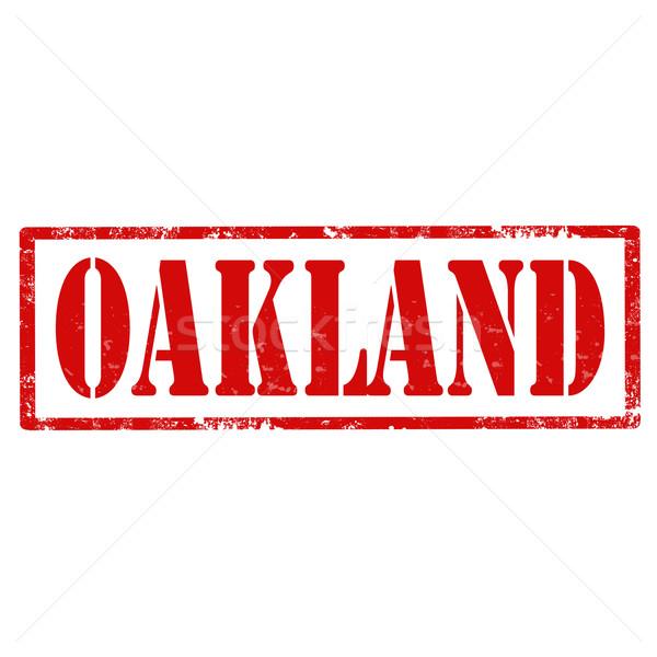 Oakland-stamp Stock photo © carmen2011