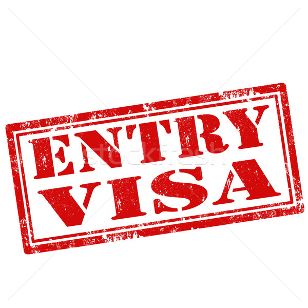 Entry Visa Stock photo © carmen2011