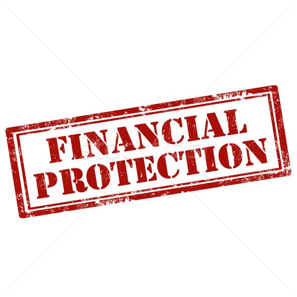 финансовых Гранж текста Финансы безопасности Сток-фото © carmen2011