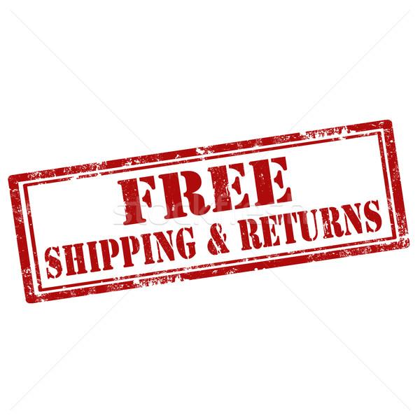 Free Shipping & Returns Stock photo © carmen2011