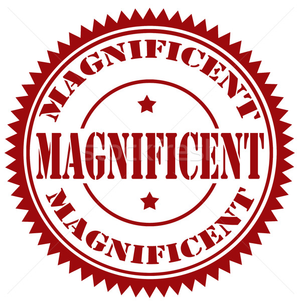Magnificent-stamp Stock photo © carmen2011