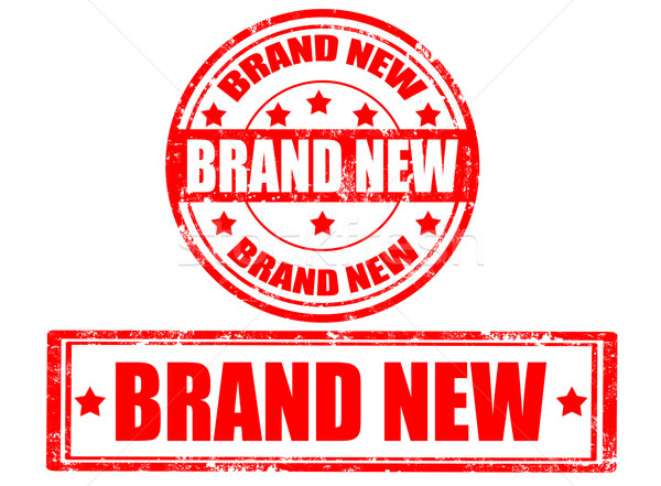 Brand new-stamps Stock photo © carmen2011