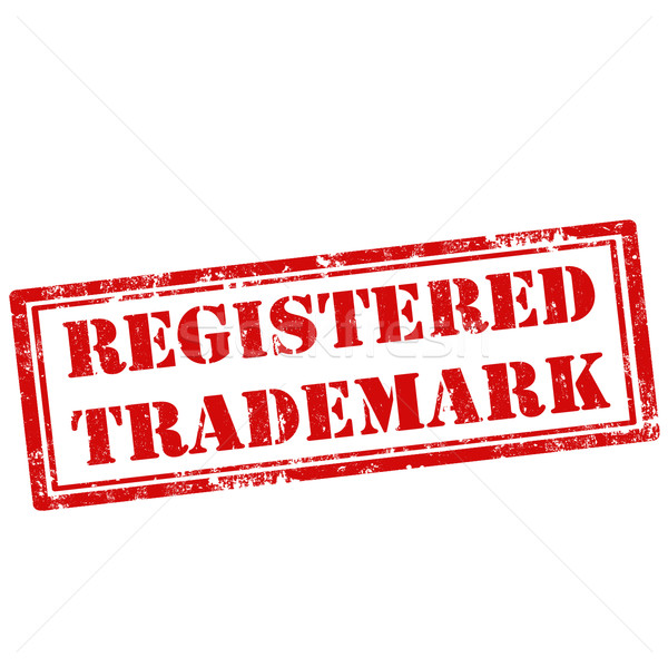 Registered Trademark-stamp Stock photo © carmen2011