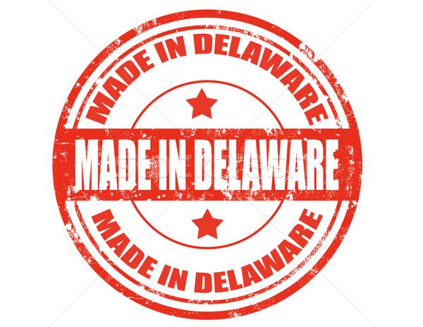 Delaware grunge tekst business achtergrond Stockfoto © carmen2011