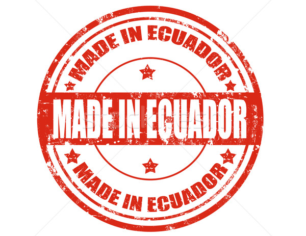 Made in Ecuador Stock photo © carmen2011