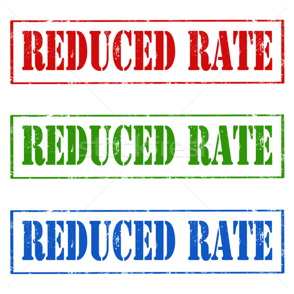 Reduced Rate Stock photo © carmen2011