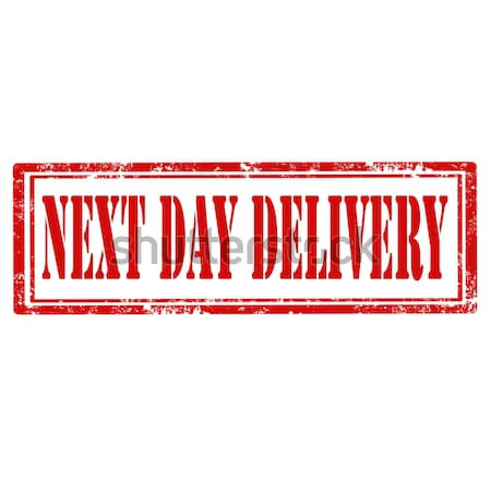 Next Day Delivery-stamp Stock photo © carmen2011