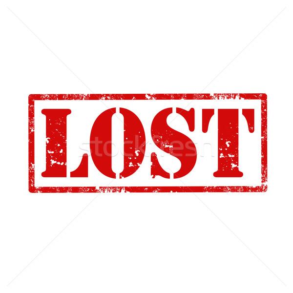 Lost-stamp Stock photo © carmen2011
