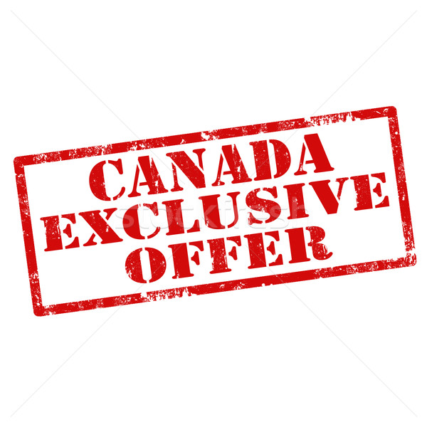 Canada Exclusive Offer Stock photo © carmen2011