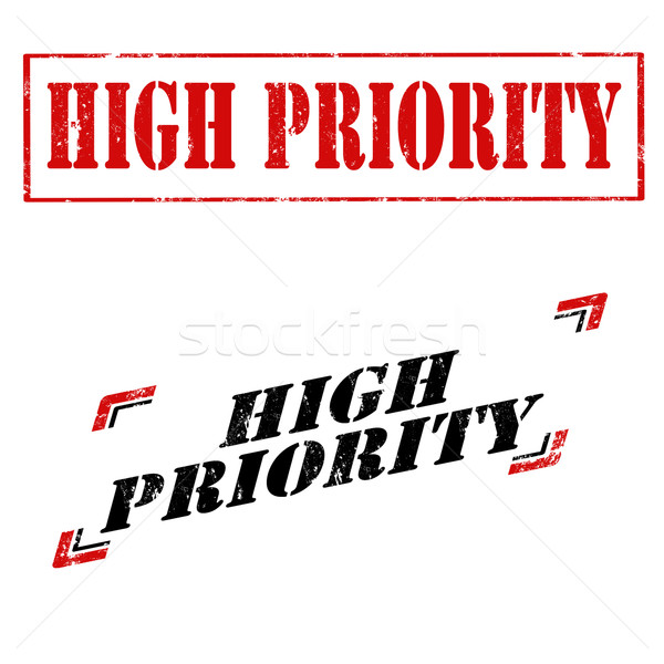 Stock photo: High Priority