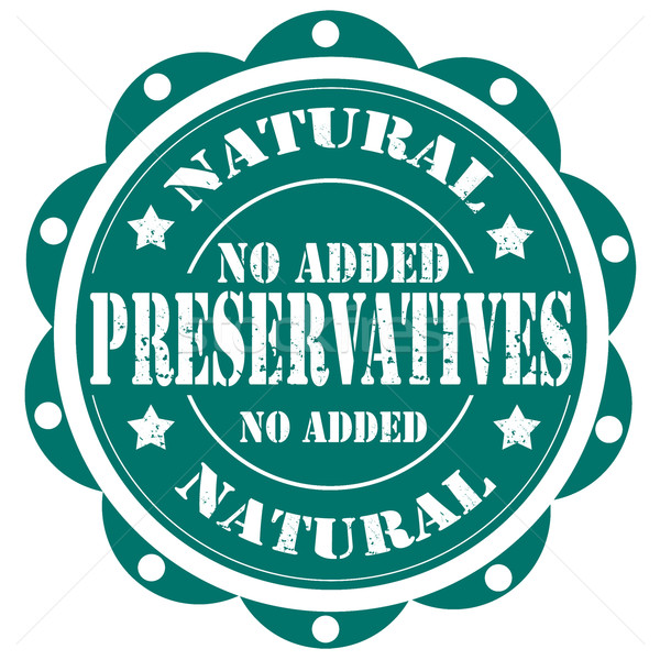 Preservatives-stamp Stock photo © carmen2011