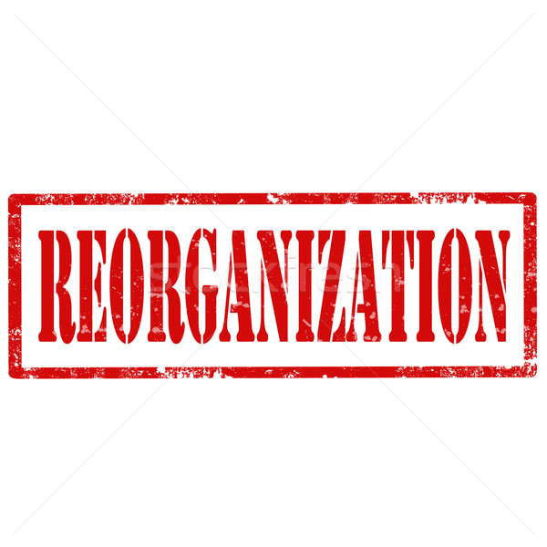 Reorganization-stamp Stock photo © carmen2011