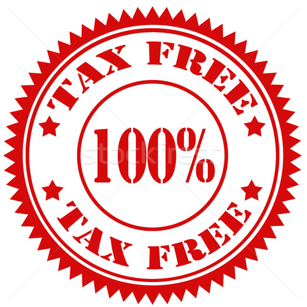 Tax Free-stamp Stock photo © carmen2011