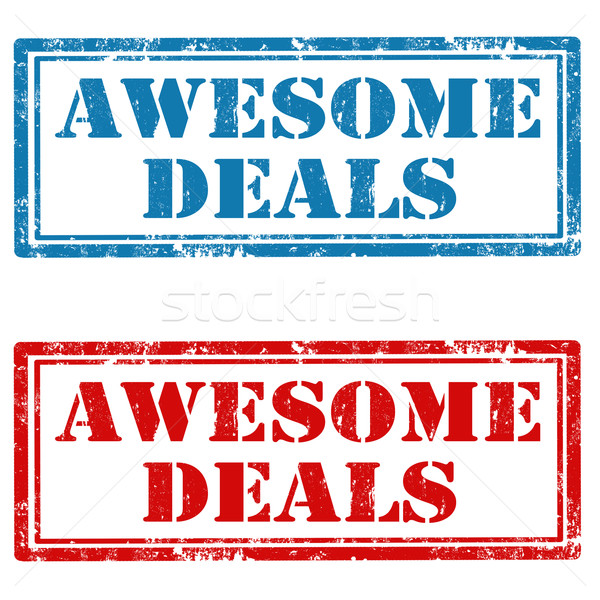 Awesome Deals Stock photo © carmen2011